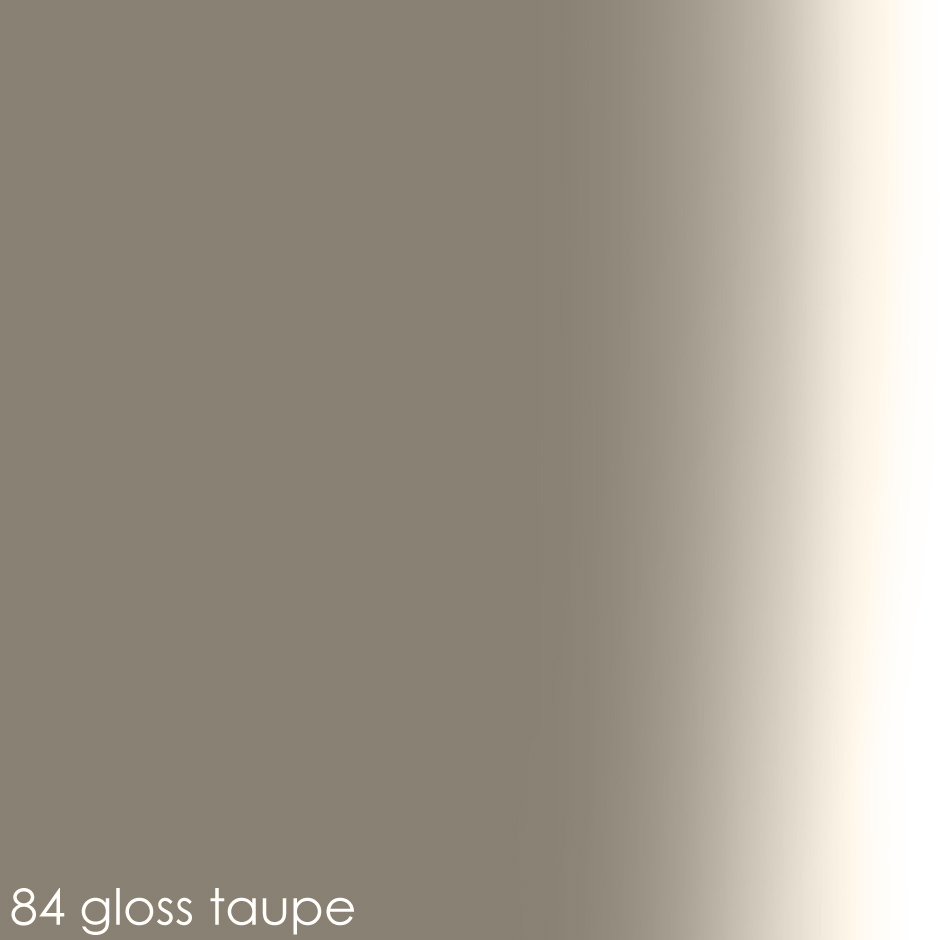 84 - gloss taupe paint