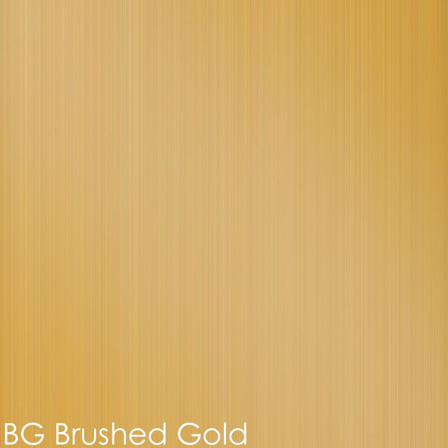 BG - brushed gold