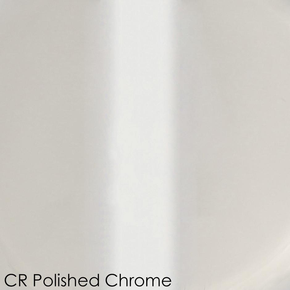 CR - polished chrome