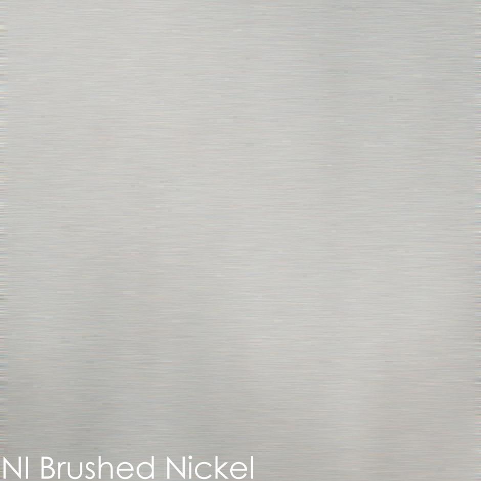 NI - brushed nickel
