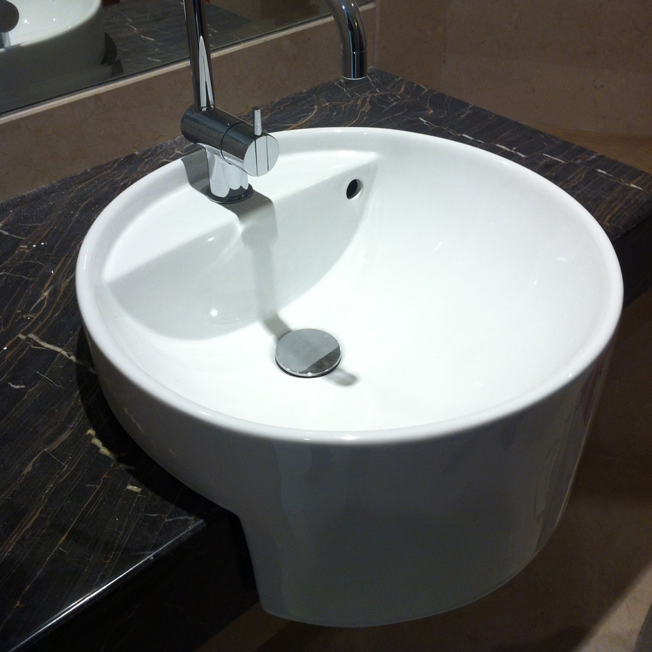 Intercontinental Hotel Beijing. Semirecesed sink 5054A-42.