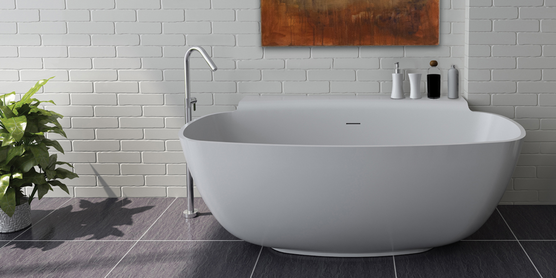 TUB07 Sottile Bathtub