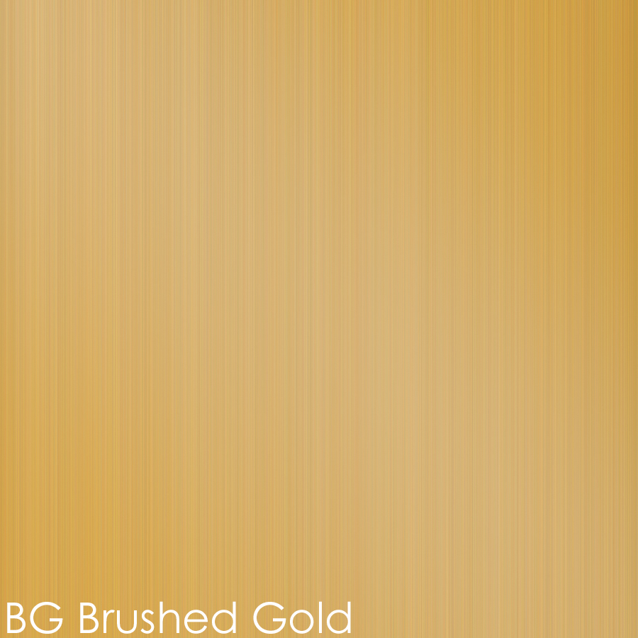 BG - brushed gold